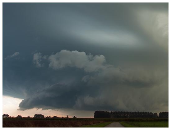 Jupe du nuage mur très structurée. Crédit photo : Samina Verhoeven